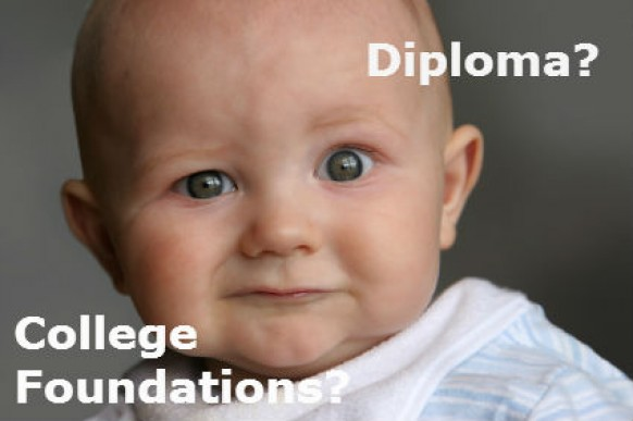 Should I take diploma or college foundations?