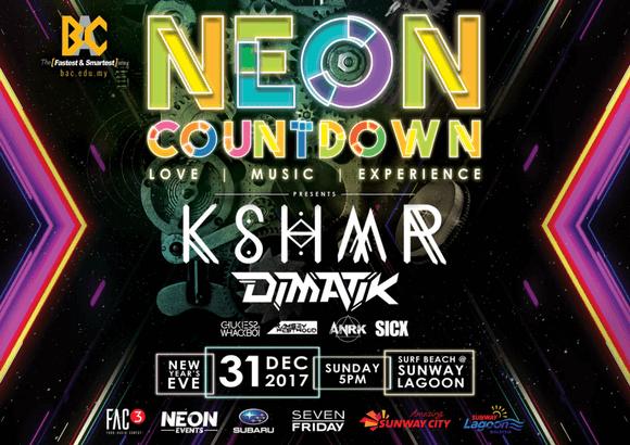 KSHMR, DIMATIK & More Headlining Neon Countdown 2017