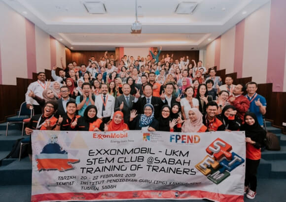 ExxonMobil-UKM STEM Club: Training of Trainers Programme bolsters skilled educators' teaching of STEM in Sabah