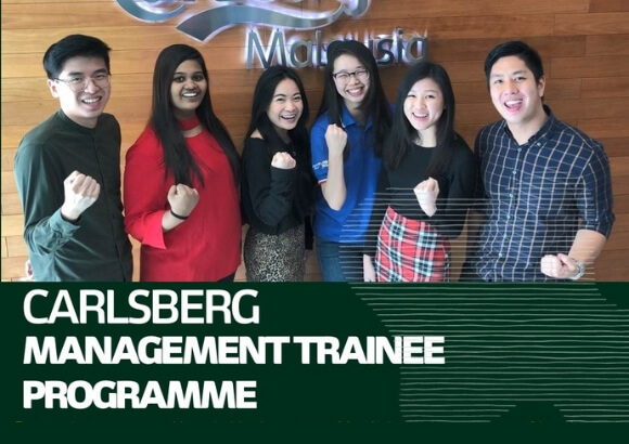 Applications now open for Carlsberg Management Trainee Programme 2019