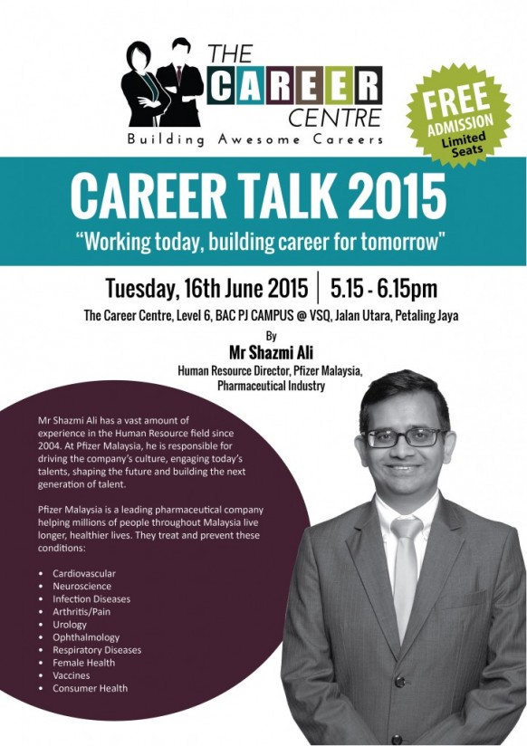 Brickfields Asia College to host talk on pharmaceutical careers this 16 June