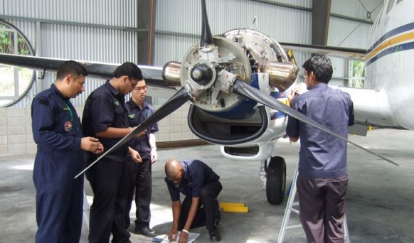 Nilai U Open Days show you how to build a career in the skies!