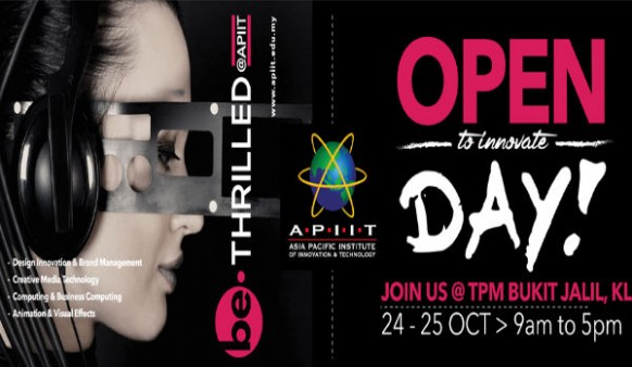 APU/APIIT Open Day this 24-25 October 2015