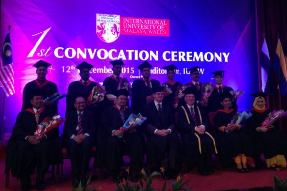 IUMW's first convocation welcomes representatives from parent universities