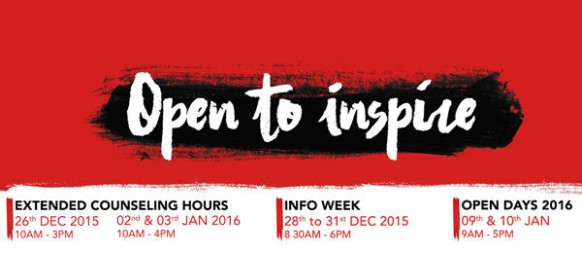 Open to inspire and be inspired: select the right course at APU