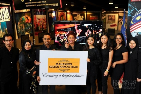 LimKokWing University offers Sultan Ahmad Shah Scholarship