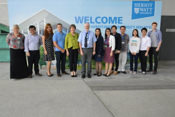 A kingly visit to Heriot-Watt University Malaysia