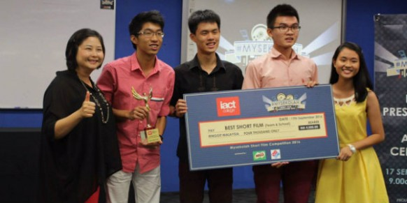 Celebrating young filmmakers of #MySekolah