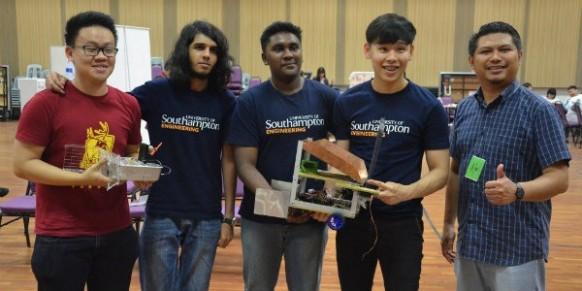 Southampton students complete robotics challenge