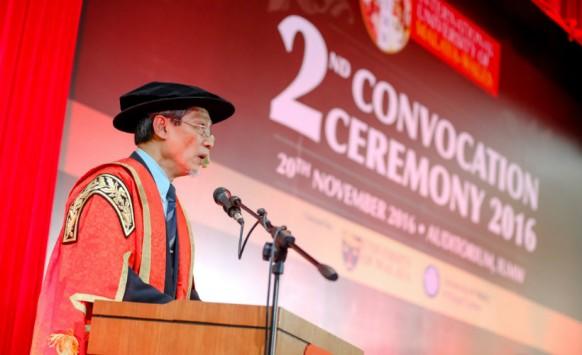 International University of Malaya-Wales celebrates its 2nd convocation