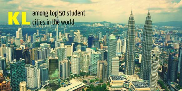 Kuala Lumpur Among Top 50 Student Cities