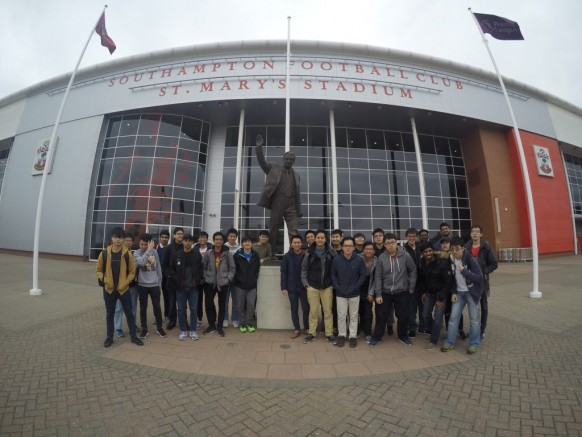 Southampton Malaysian Students Enter Premier League World at St Mary's