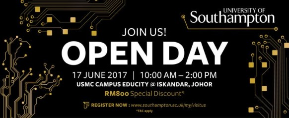 University of Southampton Malaysia Campus Open Day