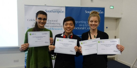Idea to Make Gas Sensing Safe, Cost Effective Wins First Runner Up in 3MT competition