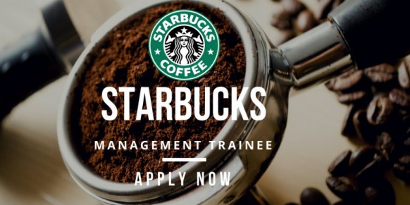 The Starbucks Management Trainee Programme