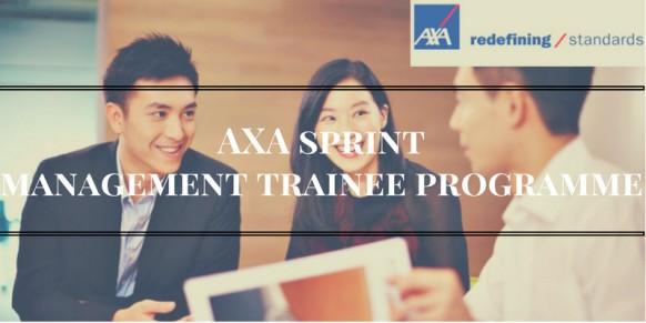 AXA SPRINT Management Trainee Programme
