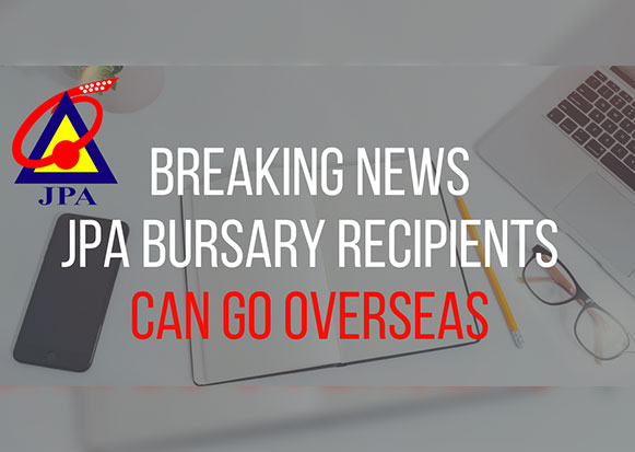 Breaking News Jpa Bursary Recipients Can Go Overseas