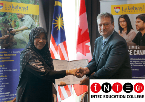 INTEC's American Degree Transfer & A-Level Can Now Be Transferred to Lakehead University, Canada
