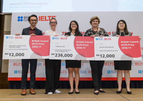 British Council launches IELTS Prize worth over RM 330,000 for Students in East Asia