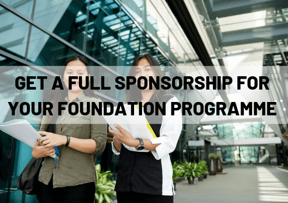 Get a Full Sponsorship for UCTS' Foundation Programme