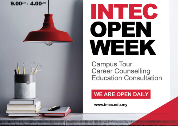 INTEC OPEN WEEK - Your best learning experience starts with us!