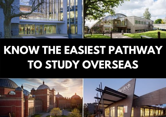 Know the Easiest Pathway to Study Overseas