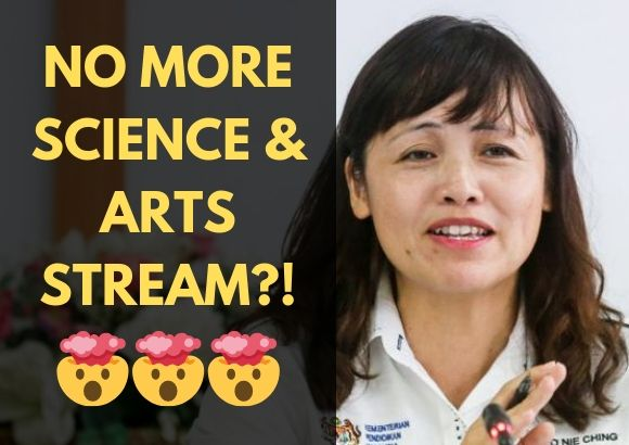 No More Science & Arts Stream Starting from Next Year