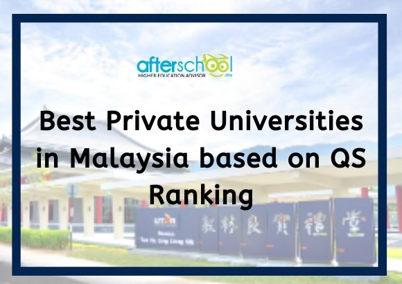 Best Private Universities in Malaysia based on QS Ranking