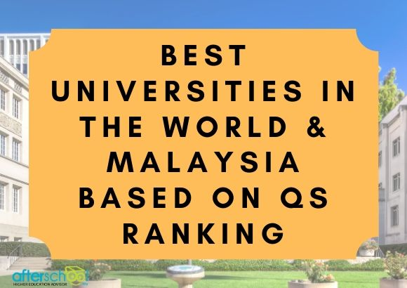 Best Universities in the World  & Malaysia based on QS ranking