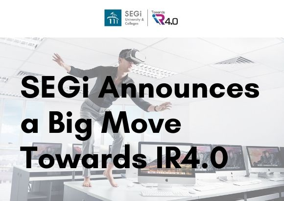 SEGi Announces a Big Move Towards IR4.0