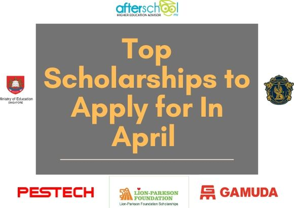 Top Scholarships to Apply for In April