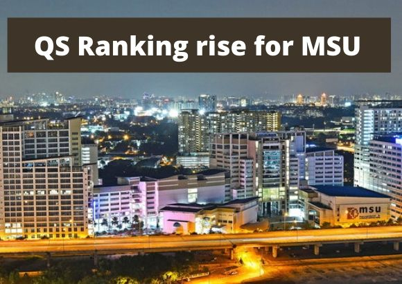 QS Ranking rise for MSU