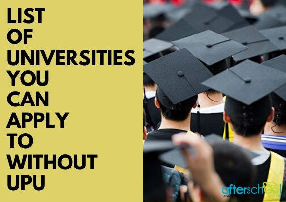 List of Universities You Can Apply to Without UPU