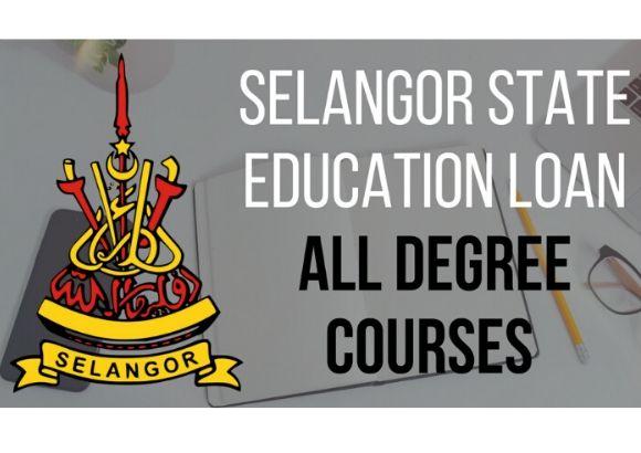 Selangor State Education Loan 2020