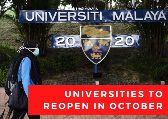 BREAKING: Universities to Reopen in October