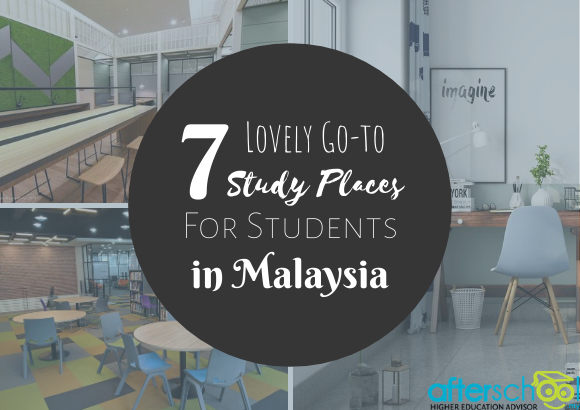 7 Lovely Go-to Study Places for Students in Malaysia