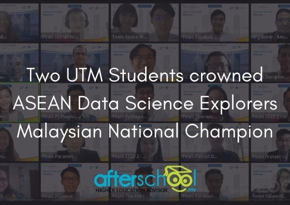 Two UTM Students crowned ASEAN Data Science Explorers Malaysian National Champion