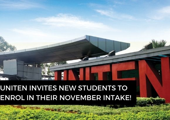 UNITEN Invites New Students to Enrol in Their November Intake!