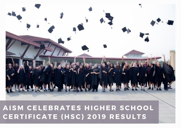 AISM Celebrates Higher School Certificate (HSC) 2019 Results