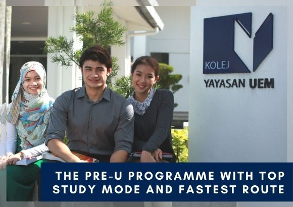 The Pre-U Programme with Top Study Mode and Fastest Route