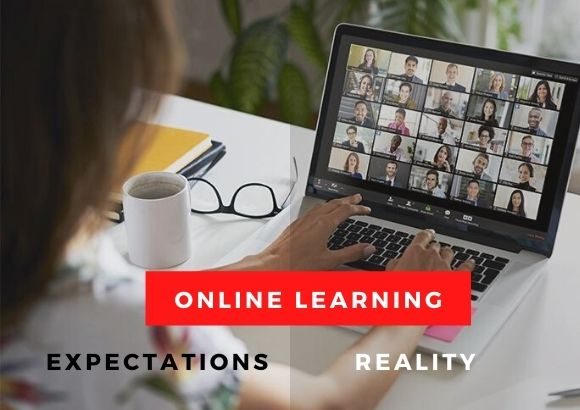 Online Classes: Expectation Vs Reality