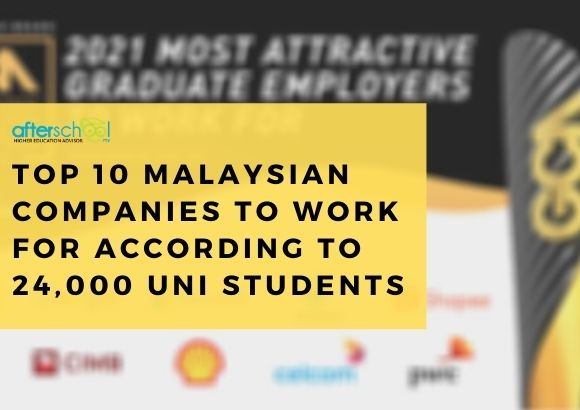 Top 10 Malaysian Companies to Work for According to 24,000 Uni Students
