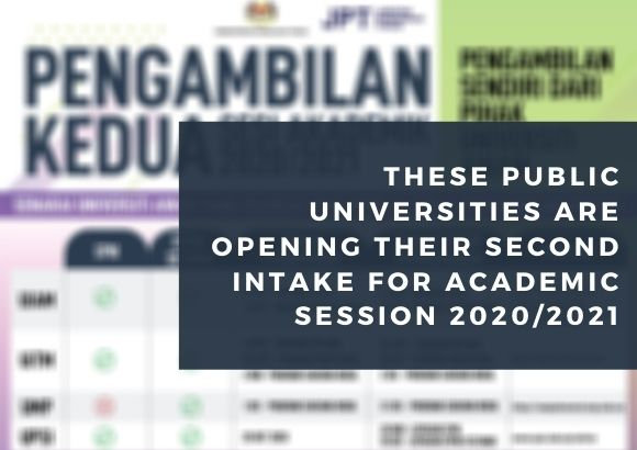 These Public Universities are Opening Their Second Intake for Academic Session 2020/2021