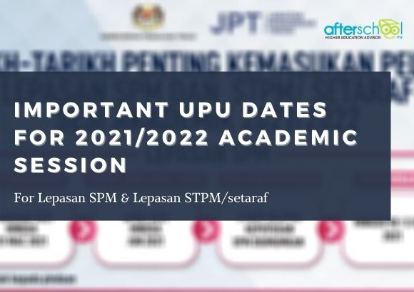 Important UPU Dates for 2021/2022 Academic Session