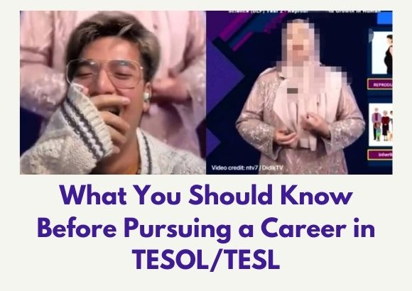 What You Should Know Before Pursuing a Career in TESOL/TESL