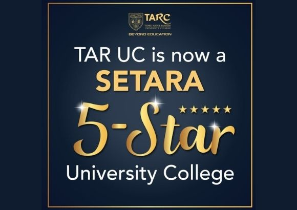 TAR UC Obtains SETARA 5-Star Rating