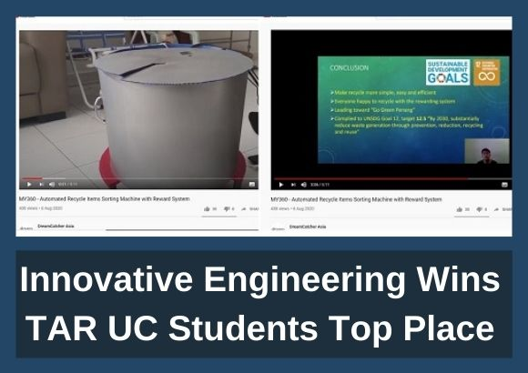 Innovative Engineering Wins TAR UC Students Top Place