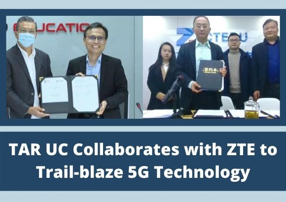 TAR UC Collaborates with ZTE to Trail-blaze 5G Technology