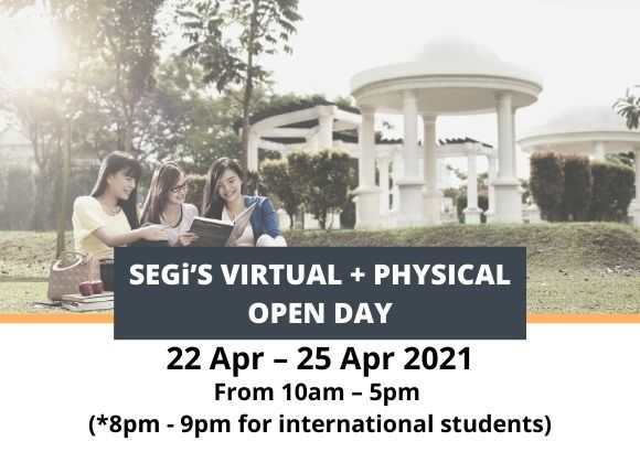 SEGi's Virtual + Physical Open Day
