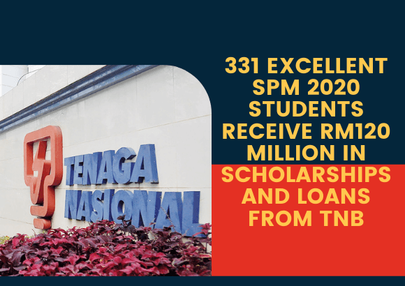 331 Excellent SPM 2020 Students Receive RM120 million in Scholarships and Loans from TNB